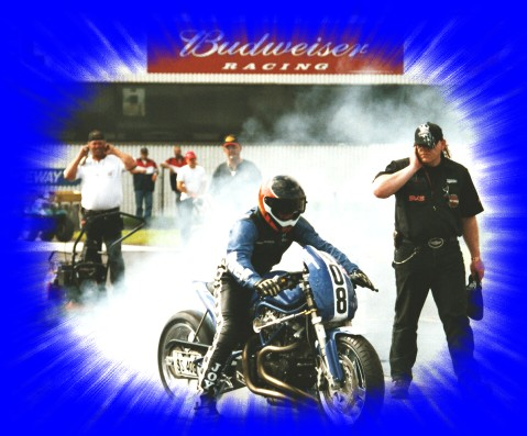 Buell Drag-Racing Team at Gainesville/IUSA 2003